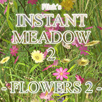 Flinks Instant Meadow 2 - Flowers 2 Props/Scenes/Architecture Themed Flink