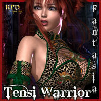 Tensi Warrior Fantasia Clothing Themed renapd