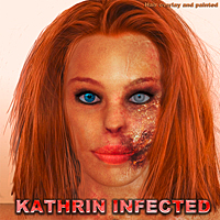 KATHRIN_INFECTED 3D Figure Essentials eltoro3D