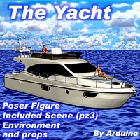 The Yacht Props/Scenes/Architecture Arduino