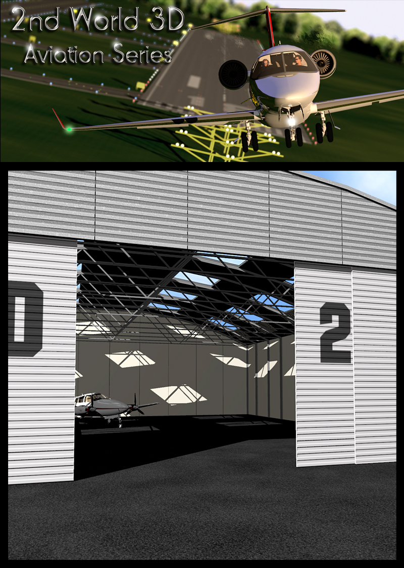 Light aircraft hangar
