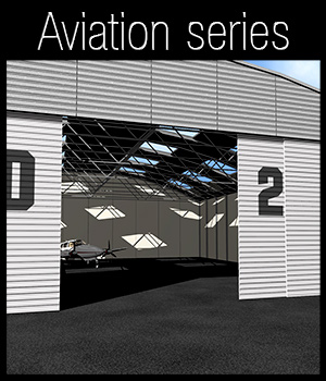 Light aircraft hangar 3D Models 2nd_World