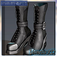 Boots M4/Guy4/H4 3D Figure Essentials Yanelis3D