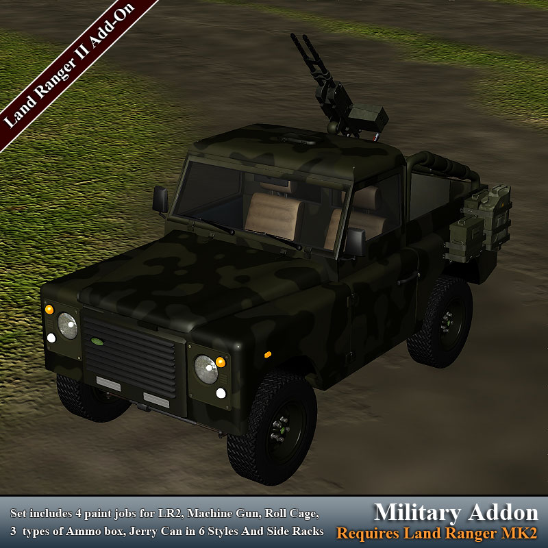 Military for Land Ranger MK2