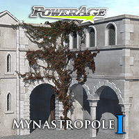 Mynastropole 1 Themed Props/Scenes/Architecture powerage