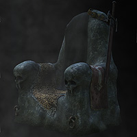 The Dark Throne 3D Models coflek-gnorg
