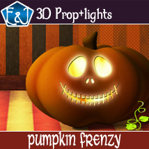 Pumpkin Frenzy 2D Graphics 3D Models EmmaAndJordi