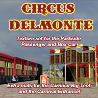 Circus Delmonte Clothing Transportation Themed tiff666