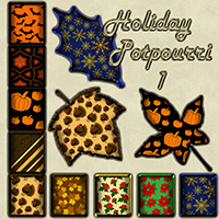 Holiday Potpourri 1 Themed 2D And/Or Merchant Resources LmWolfSpirit