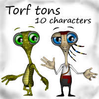 Trof tons by mininessie 3D Models 3D Figure Essentials mininessie