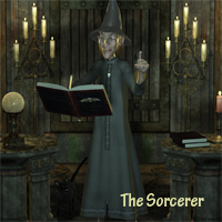 The Sorcerer 3D Figure Essentials anny