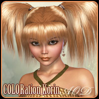 COLORation Korin Hair ArtOfDreams