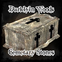 Darklyn Wood Tombstones 3D Models Ravyns