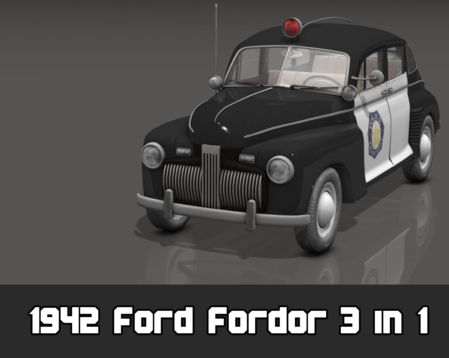 1942 Ford Fordor 3 in 1