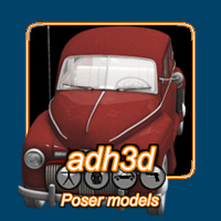 1942 Ford Fordor 3 in 1 Themed Transportation adh3d