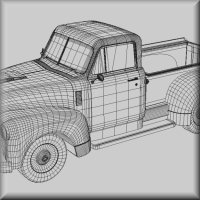 1951 Chevy Pickup for Poser image 4