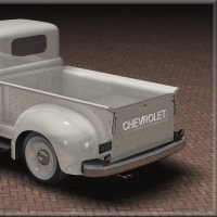 1951 Chevy Pickup for Poser image 2