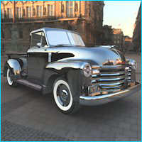 1951 Chevy Pickup for Poser image 3