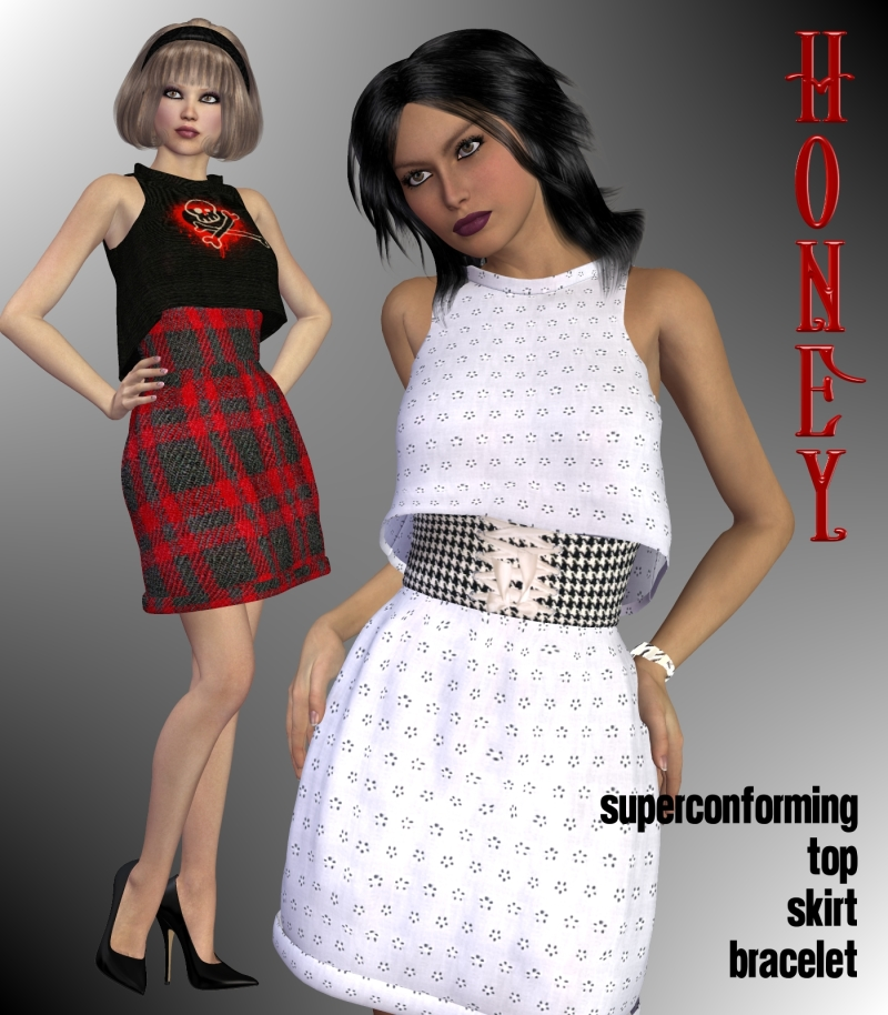 Honey Dress for V4-S4-Elite-A4-Alice