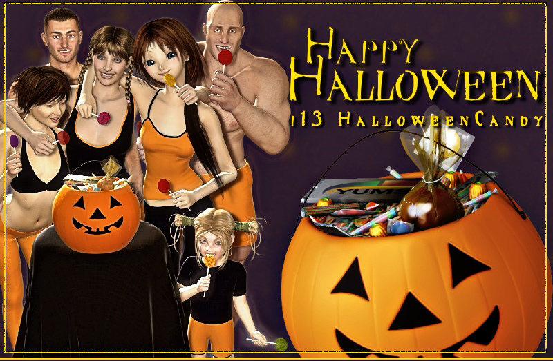 i13 Halloween Candy