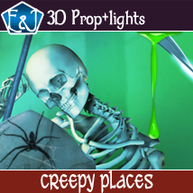 Creepy Places 2D Graphics EmmaAndJordi
