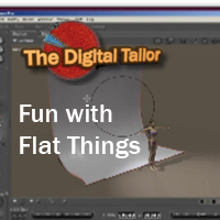 Fun with Flat Things Props/Scenes/Architecture Tutorials Fugazi1968