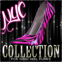 NYC For High Heel Pumps 3D Figure Essentials 3DSublimeProductions