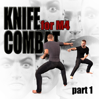 Knife combat for M4 - part 1 3D Figure Essentials 3D Models PainMD
