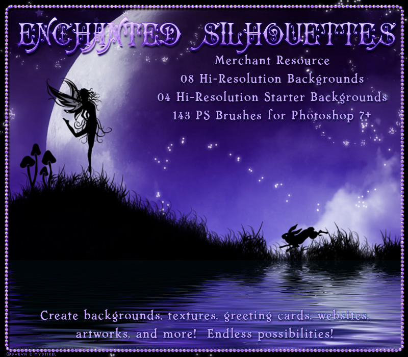 Merchant Resource: Enchanted Silhouettes