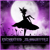 Merchant Resource: Enchanted Silhouettes 2D Graphics Merchant Resources Sveva