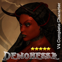 Demonessa Themed Clothing Characters Accessories Darkworld