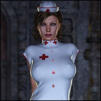 Honey Nurse 3D Figure Assets Nathalie_