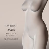 Natural Form for Genesis 3D Figure Essentials adamthwaites