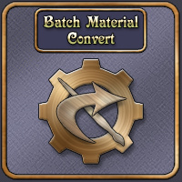 Batch Material Convert 2D And/Or Merchant Resources Software Netherworks