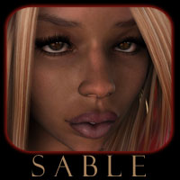 Sable 3D Figure Assets 3D Models reciecup