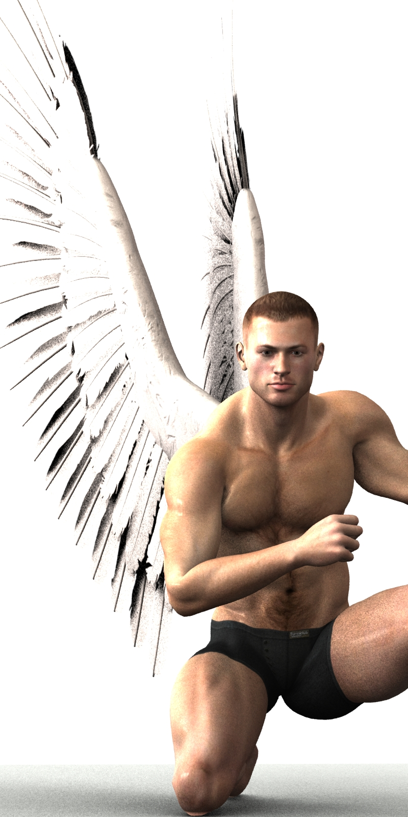 Farconville's Angel Poses for Michael 4