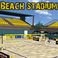 Beach stadium 3D Models santuziy78