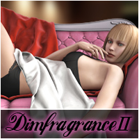 Dim fragrance 2 3D Figure Assets 3D Models halcyone