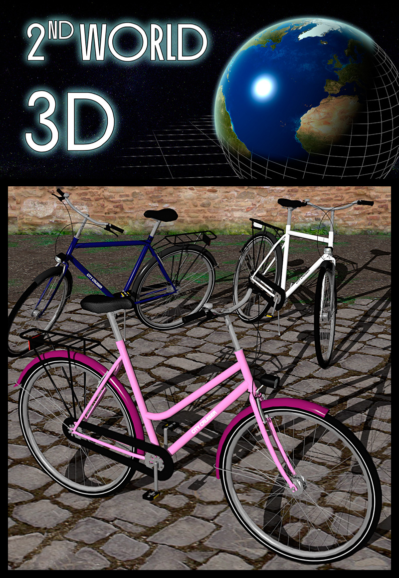 Adults bicycle set