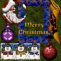 Harvest Moons Merry Christmas 2D Merchant Resources MOONWOLFII