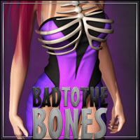 BAD TO THE BONE for V4/A4/G4 3D Models 3D Figure Essentials outoftouch