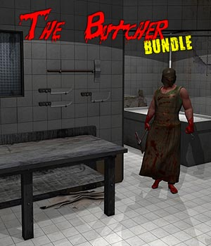 The Butcher BUNDLE 3D Models 3D Figure Assets ile-avalon