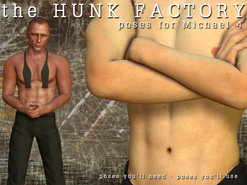 The Hunk Factory M4 Poses