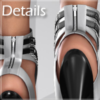 Noemi High Heel Shoes for V4 A4 G4 S4 Elite image 1