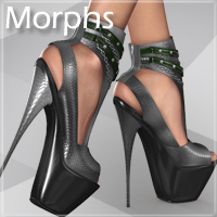 Noemi High Heel Shoes for V4 A4 G4 S4 Elite image 4