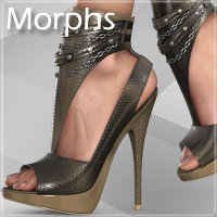 Noemi High Heel Shoes for V4 A4 G4 S4 Elite image 5