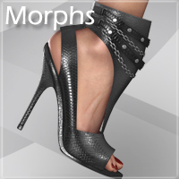 Noemi High Heel Shoes for V4 A4 G4 S4 Elite image 6