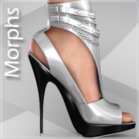 Noemi High Heel Shoes for V4 A4 G4 S4 Elite image 7