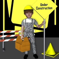 K4 Construction Kid Clothing 3DTubeMagic