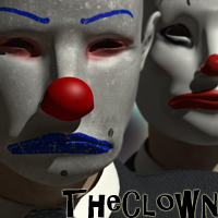 Disguised: The Clown 3D Models 3D Figure Assets RetroDevil
